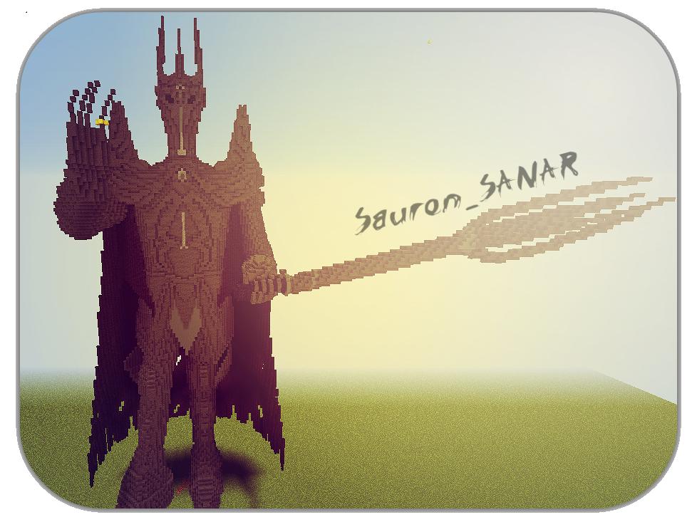 [Map] Объемная статуя Саурона\Sauron